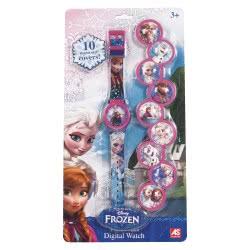 As company Ψηφιακό Ρολόι Με 10 Καπάκια Frozen 1027-64125 5203068641252