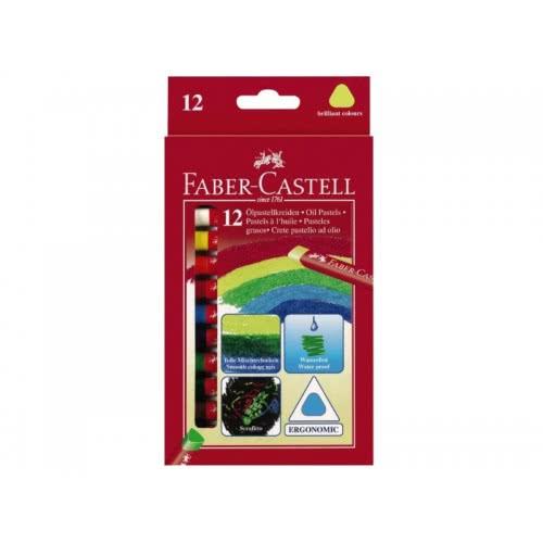 Faber-Castell 12 ΛΑΔΟΠΑΣΤΕΛ ΣΕ ΤΡΙΓΩΝΙΚΟ ΣΧΗΜΑ 121212 4005401212126