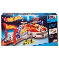 Mattel Hot Wheels Γκαράζ Με Εκτοξευτή CCH19 887961024425