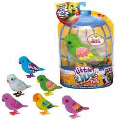 GIOCHI PREZIOSI Little Live Pets S1 Ηλεκτρονικό Πουλάκι 6Σχέδια 175140 8001444133790