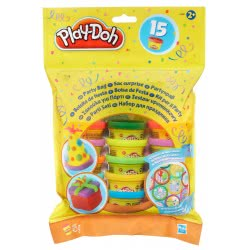 Hasbro PLAY-DOH ΣΑΚΟΥΛΑΚΙ COUNT BAG 15 Μίνι Βαζάκια 18367 5010994635701