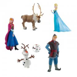 BULLYLAND Disney Frozen 5 Φιγούρες Σετ Δώρου BU012220 4007176122204