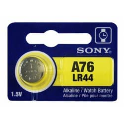 SONY ΜΠΑΤΑΡΙΑ ΚΟΥΜΠΙ ALKALINE A76 LR44 LR-44BEA 008562007192