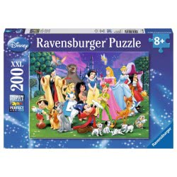 Ravensburger Παζλ 200Τεμ. XXL Οι Αγαπημένοι Της Disney 12698 4005556126989