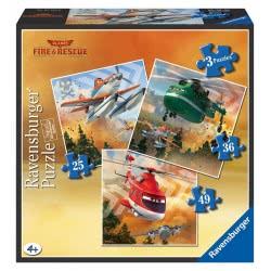 Ravensburger Παζλ 3 Σε 1 (25+36+49) Αεροπλάνα 05-07288 4005556072880