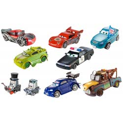 Fisher-Price Disney Cars Toons Αυτοκινητάκια CHC14 / ASST 887961076493