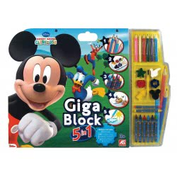 As company Σετ ζωγραφικής Giga Block 5 σε 1 - Mickey Mouse & Friends 1023-62686 5203068626860