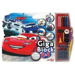 As company Σετ ζωγραφικής Giga Block 5 σε 1 - Disney Cars 1023-62689 5203068626891