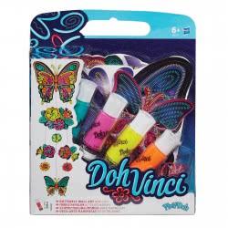 Hasbro Play-Doh Dohvinci Butterfly Wall Art A9210 5010994840891