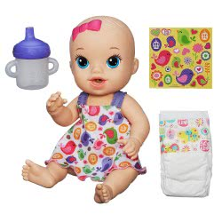 Hasbro Baby Alive Sips N Cuddles Baby Σε 2 Χρώματα A9290 5010994833824