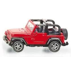 siku Αυτοκινητάκι Jeep Wrangler SI001342 4006874013425