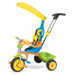 just baby Ποδήλατάκι Τρίκυκλο Force Multicolor JB-2410 5221275901075