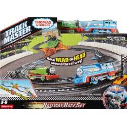 Fisher-Price Thomas & Friends Trackmaster Motorized Railway Race Playset DFM53 887961175349