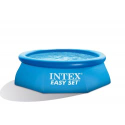 INTEX ΠΙΣΙΝΑ ΜΕΓΑΛΗ EASY SET 244x76cm 28112 6941057400082