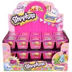 GIOCHI PREZIOSI Shopkins Σειρά 2 - 2 Shopkins & 1 Καλαθάκι Αγορών GPH56120 8001444138825