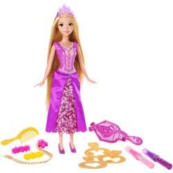 Mattel Disney Princess Ραπουνζέλ Μακριά Μαλλιά Με Αξεσουάρ CJP12 887961179767