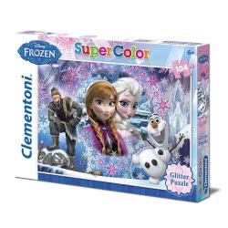 Clementoni Παζλ 104τεμ Disney Frozen Glitter 1211-27248 8005125272488