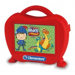Clementoni Παζλ Κύβοι 6Τεμ Mike The Knight 1100-40652 8005125406524