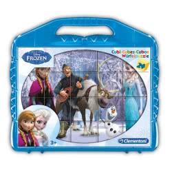 Clementoni 24 ΚΥΒΟΙ Disney Frozen 1100-42430 8005125424306