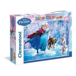 Clementoni ΠΑΖΛ 104 MAXI S.C. Disney Frozen πατιναζ 1210-23679 8005125236794