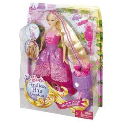 Mattel Barbie twist and style princess DKB62 887961234510