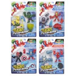 Hasbro Marvel Super Hero Mashers Micro 2-pack - 4 σχέδια B6432 5010994950958