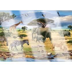 Ravensburger Παζλ 1000τεμ. Video Anim. Ζώα της Αφρικής 05-19305 4005556193059
