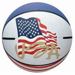 Ravensburger Μπάλα USA Μπάσκετ Size 7 12-58142 4006149581420