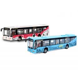 DICKIE TOYS DICKIE City Bus 20εκ σε 2 χρώματα 20 331 4580 4006333032714