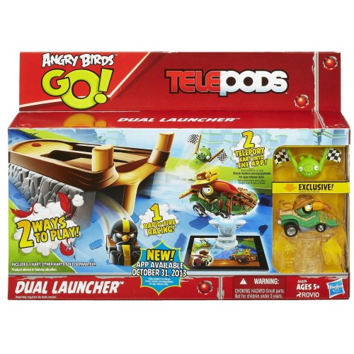 Hasbro AB GO TELEPODS KART DUAL LAUNCHER A6029 5010994763589