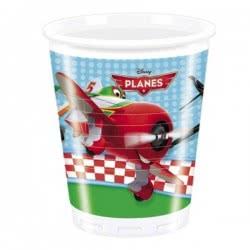 PROCOS Πλαστικά Ποτήρια DISNEY PLANES 8τμχ 081653 5201184816530