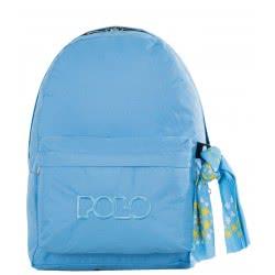 POLO Original Multi Scarf Σακίδιο Με Μαντήλι Χρώμα Γαλάζιο 901135-25-00 5201927087449