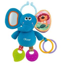 Chicco Baby Senses Line Ελεφαντάκι με δραστηριότητων 72375 8003670877332