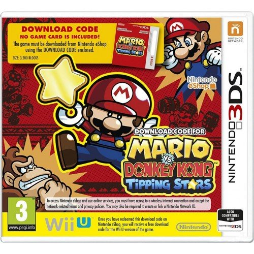 Nintendo 3DS Mario vs Donkey Kong:Tipping Stars 045496527648 045496527648