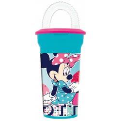 GIM Ποτήρι Καλαμάκι Minnie Animated Fun 553-38225 5204549080096
