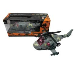 Toys-shop D.I B/O Ελικόπτερο Μαχητικό Apache Με Φώτα Και Ήχους JB050048 6990416500482