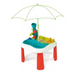 Smoby ΤΡΑΠΕΖΑΚΙ ΑΜΜΟΥ ΚΑΙ ΝΕΡΟΥ SAND & WATER TABLE 7/310063 3032163100638