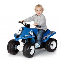 Smoby Ηλεκτροκίνητο Όχημα Quad Battery Rally 6V 7/033051 3032160330519