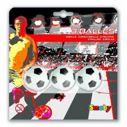 Smoby ΜΠΑΛΑΚΙΑ ΑΝΤΑΛΛΑΚΤΙΚΑ 34χιλ 3τεμ BALLS PLASTIC 34MM IN BLISTER X3 140711 3032161407111
