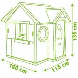 Smoby My House Playhouse Σπιτάκι Κήπου 7/310228 3032163102281