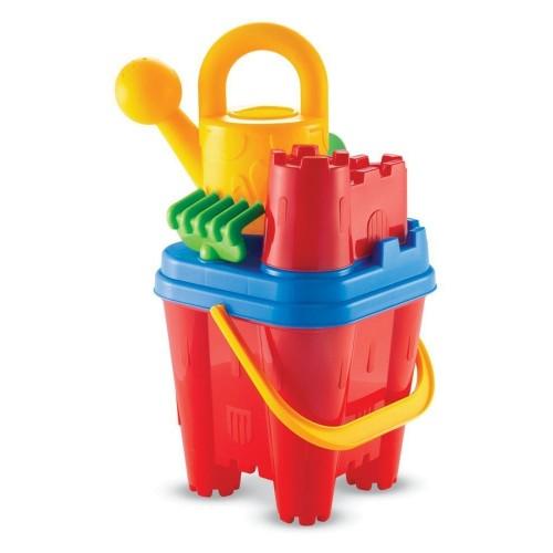ecoiffier Κουβαδάκι Κάστρο Castle Bucket Set (20Cm + 5 Accessories) 614 3280250006145