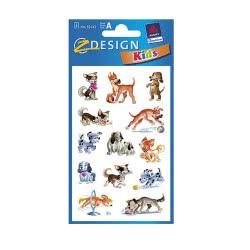 ZDesign Ζ Design Αυτοκολλητα Kids Σκυλάκια 53143 4004182531433