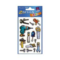 ZDesign Ζ Design Αυτοκολλητα Kids Εργαλεία 53173 4004182531730