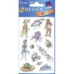 ZDesign Ζ Design Αυτοκολλητα Kids Εξωγήινοι 53194 4004182531945