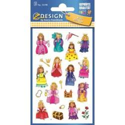 ZDesign Ζ Design Αυτοκολλητα Kids Πριγκίπισσες 53198 4004182531983