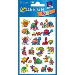 ZDesign Ζ Design Αυτοκολλητα Kids Χελώνες 53340 4004182533406