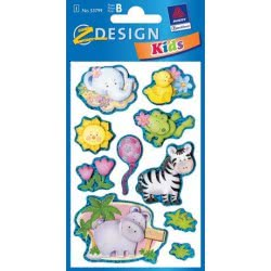 ZDesign Αυτοκόλλητα Ζ Design Κids Collage Ζωάκια 53799 4004182537992