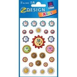 ZDesign Ζ Design Αυτοκολλητα Kids Φατσούλες Μαργαρίτες 53878 4004182538784