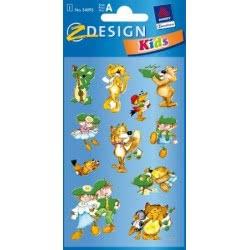 ZDesign Αυτοκόλλητα Ζ Design Κids Musik 54093 4004182540930