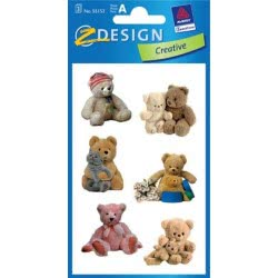 ZDesign Ζ Design Αυτοκολλητα Creative Αρκουδάκια 55152 4004182551523